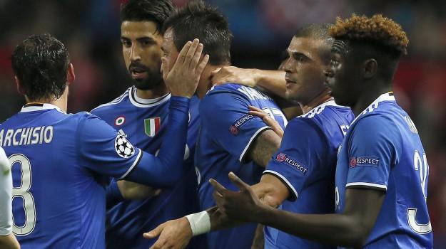 Calcio, champions, juve, siviglia, Sicilia, Sport