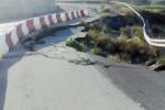 Gela, la strada per Butera devastata dalle frane
