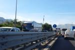 Tamponamento fra Capaci e Tommaso Natale: traffico in tilt in autostrada