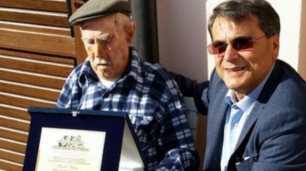 uomo più anziano d'italia, Sicilia, Cronaca