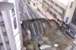 Collassa strada in Giappone, voragine di 27 metri a Fukuoka - Video