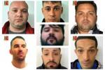 Furti ed estorsioni, a Palermo la banda della auto rubate: nomi e foto degli arrestati