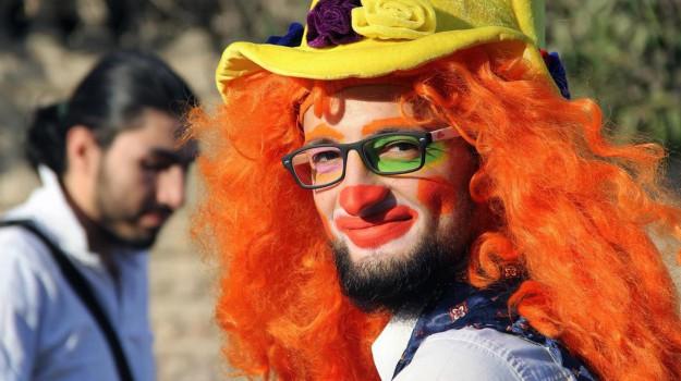 aleppo, clown, Siria, Anas Basha, Sicilia, Mondo