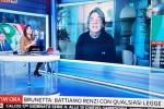 """Brunetta litiga con la giornalista Sky: """"Mi chiami onorevole o presidente"""""""
