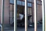 Il capannone andato a fuoco a Cattolica Eraclea - Video