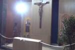 Palermo, il beato Pino Puglisi sorridente nella nuova cappella di Sant'Ernesto