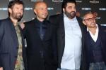 Carlo Cracco, Joe Bastianich, Tonino Cannavacciuolo e Bruno Barbieri