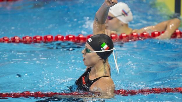 mondiali, nuovo, oro, Federica Pellegrini, Sicilia, Sport