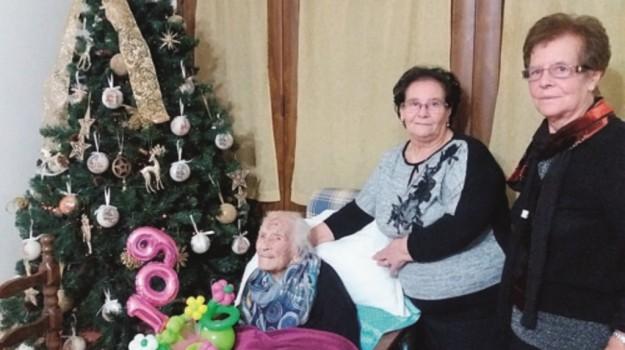centenaria, nonna, salemi, Trapani, Cronaca