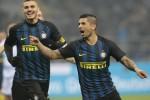 Apre Banega e poi doppietta di Icardi: l'Inter batte la Lazio 3-0