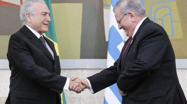 ambasciatore greco, Brasile, Sicilia, Mondo