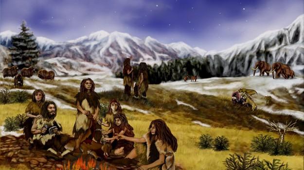 canale della manica, neanderthal, Sicilia, Società