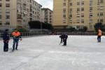 Palermo, la pista di pattinaggio di via Mulè si rifà il look: la riapertura a fine gennaio