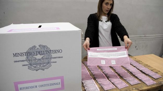 orario voto referendum, referendum, seggi, Sicilia, Politica