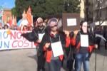 Tim, a Palermo la protesta dei dipendenti