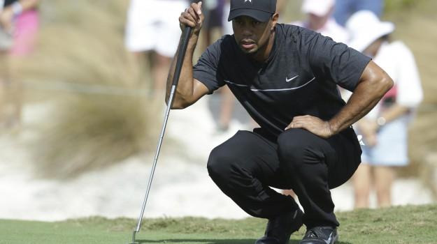golf, Tiger Woods, Sicilia, Sport