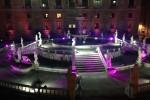 A Palermo videomapping e danze fra gli zampilli di piazza Pretoria