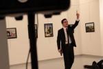 Ambasciatore russo ucciso in Turchia,sette fermati