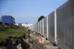 """Calais, nell'ex """"Giungla"""" oggi sorge un nuovo muro anti-migranti - Foto"""