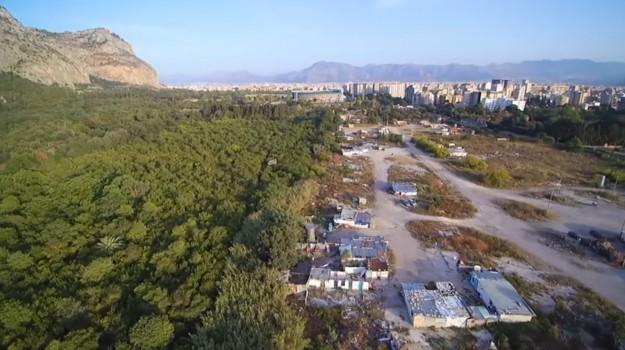 dismissione campo nomadi palermo, sequestro campo nomadi palermo, Palermo, Politica