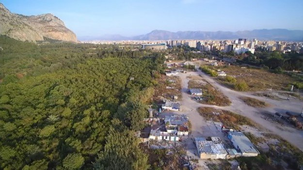 blitz campo nomadi, campo rom favorita, nomadi favorita, Palermo, Cronaca