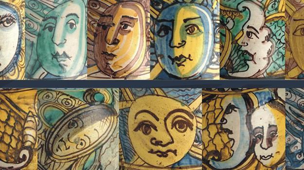 burgio, ceramica, Agrigento, Cultura