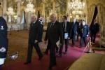 Il Presidente Sergio Mattarella con il Segretario Generale Ugo Zampetti - Fonte Ansa