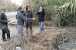 Delegazione del M5s al depuratore di Giardini Naxos
