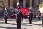 """Fanfara del 12° Battaglione Carabinieri """"Sicilia"""", il concerto sulla scalinata del Teatro Massimo - Video"""