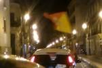 Festeggiamenti a Palermo dopo i risultati del referendum - Da video