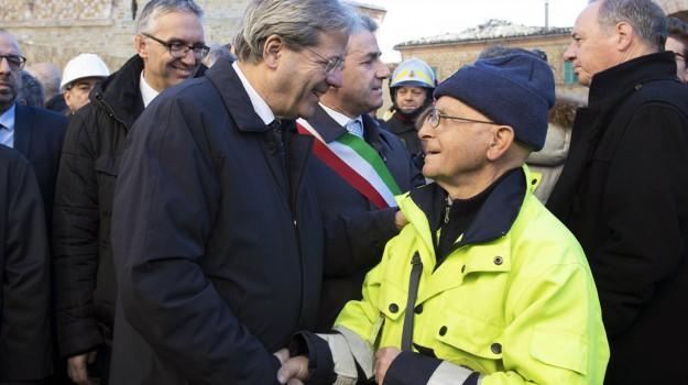 terremoto amatrice, Paolo Gentiloni, Sicilia, Politica