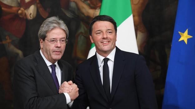 governo, Matteo Renzi, Paolo Gentiloni, Sicilia, Politica