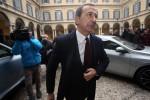 Il sindaco di Milano Giuseppe Sala arriva in Prefettura per l'autosospensione
