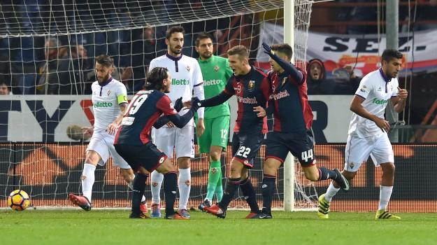 Calcio, Fiorentina, genoa, SERIE A, Sicilia, Sport