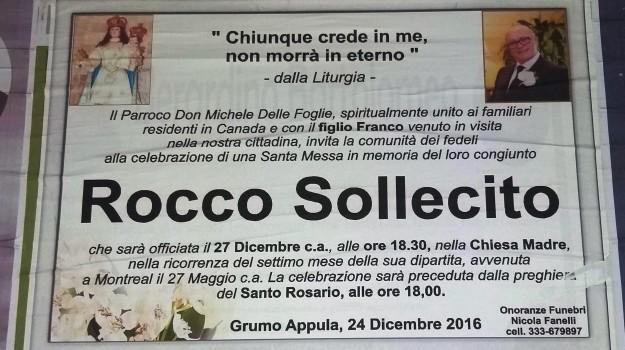 barese, mafia, messa in suffraggio di boss, Puglia, Sicilia, Cronaca