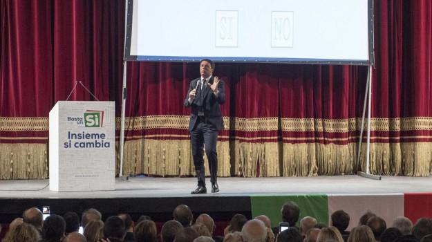 casa pound, firme false, m5s, referendum, Davide Faraone, Matteo Renzi, Palermo, Politica