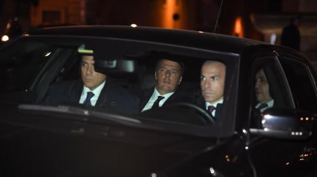 crisi di governo, dimissioni renzi, referendum, Matteo Renzi, Sergio Mattarella, Sicilia, Politica