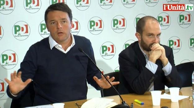 crisi di governo, direzione pd, partito democratico, Matteo Renzi, Roberto Speranza, Sicilia, Politica