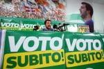 """Italicum, Salvini: si voti il 23 aprile, sarà il """"Liberation Day"""""""
