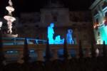 """Spettacolo di luci a Piazza Pretoria per la """"Novena lucente"""""""