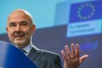 """Crisi di Governo in Italia? Moscovici: """"Nessun rischio per le banche"""""""