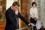 """Referendum, Renzi si dimette: """"Andiamo via senza rimorsi"""""""