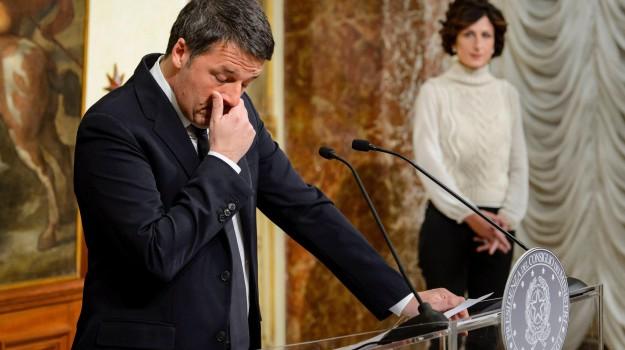 dimissioni renzi, referendum, Matteo Renzi, Sicilia, Politica