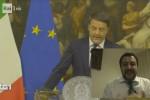"""Salvini in diretta su Fb commenta dimissioni Renzi: """"Ciaone, è andato"""""""