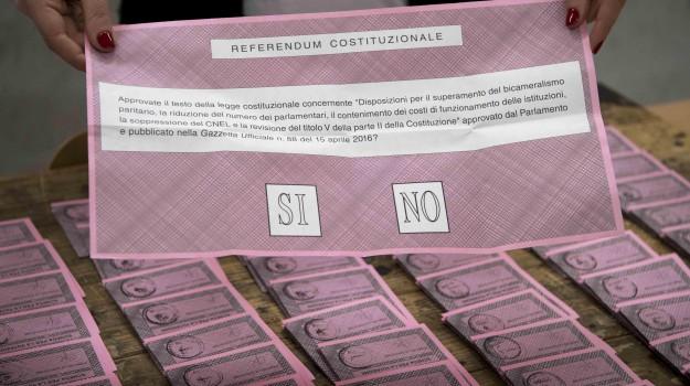matita, referendum, Caltanissetta, Cronaca