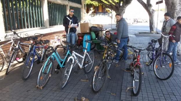 ballarò, biciclette, Palermo, Palermo, Cronaca