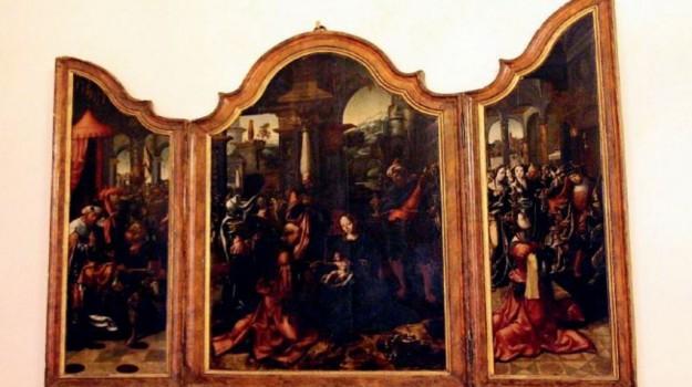 arte, marsala, trittico fiammingo, Trapani, Cultura