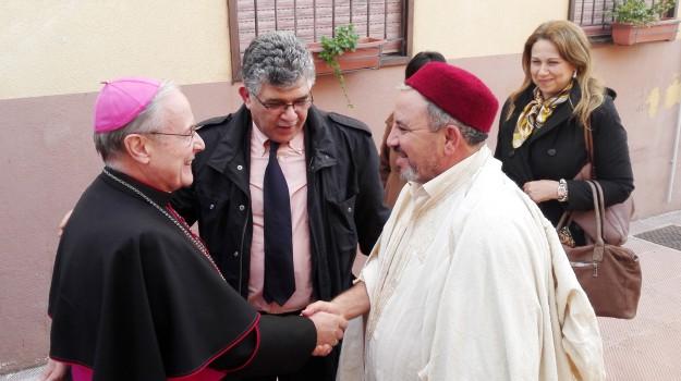 imam, Mazara del Vallo, vescovo, Domenico Mogavero, Trapani, Cronaca