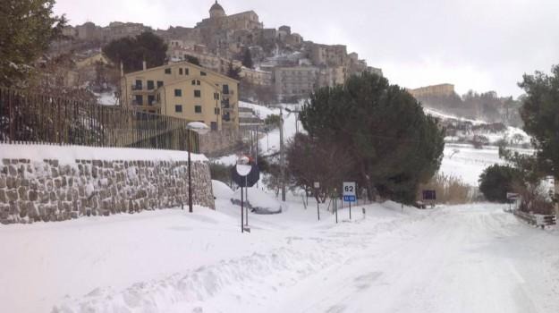 ghiaccio, Maltempo, neve, scuola, Sicilia, Cronaca