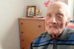 È di Oliveri l'uomo più anziano della Sicilia: ha 108 anni